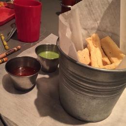 Tofu fries at Ginger Pop
