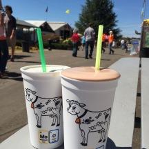 Dairy Women of Clark Co milkshakes at the Clark Co Fair