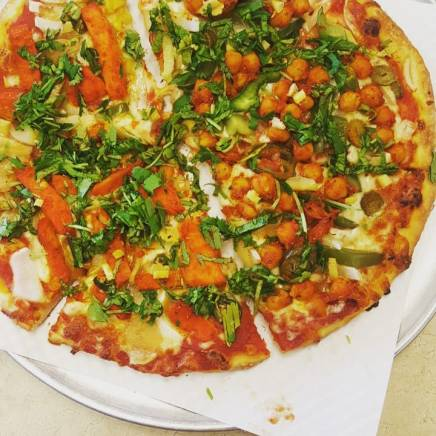 Punjabi Special at NYC Pizzeria